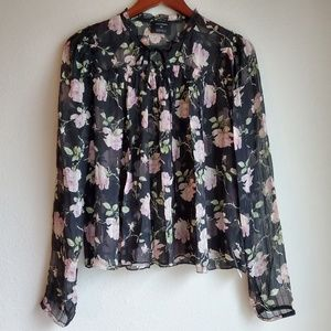 Ulla Johnson Floral Petunia Blouse size 6 NWT
